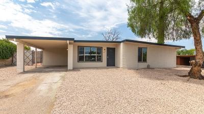 Tucson Single Family Home For Sale: 3244 S Manitoba Avenue