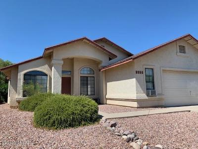 Tucson Single Family Home For Sale: 2780 W Redmond Drive