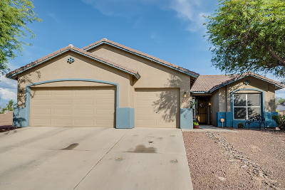 Tucson Single Family Home Active Contingent: 9232 N Brave Drive