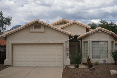 Tucson Single Family Home For Sale: 7653 E Via Los Arbustos