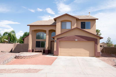 Tucson Single Family Home For Sale: 8834 E Lions Spring Place