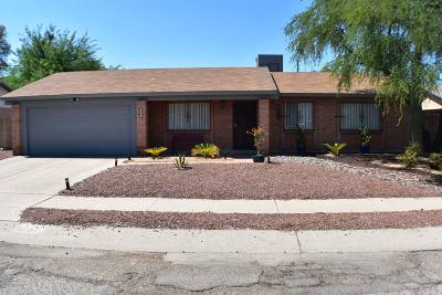 Tucson Single Family Home For Sale: 3237 W Bayleaf Drive