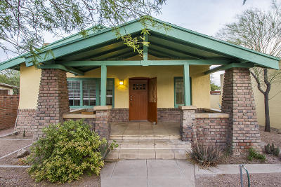 Tucson Single Family Home For Sale: 220 E Mabel Street