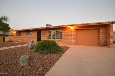 Tucson Single Family Home For Sale: 8526 N Kent Place
