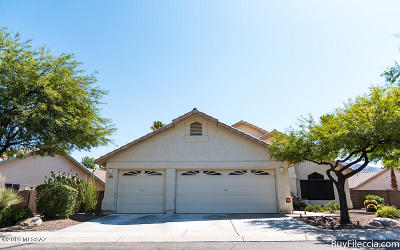 Tucson Single Family Home For Sale: 1530 W Dusk Glow Loop