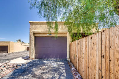 Pima County Townhouse Active Contingent: 4500 W Pyracantha Drive
