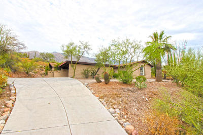 Tucson Single Family Home For Sale: 6131 N Camino Almonte