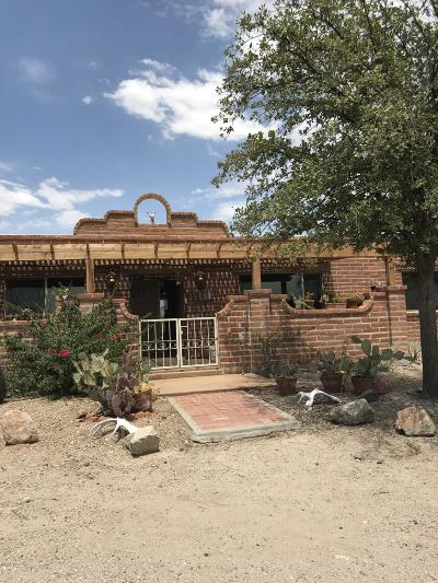 Single Family Home Active Contingent: 3635 S Saguaro Shadows Drive