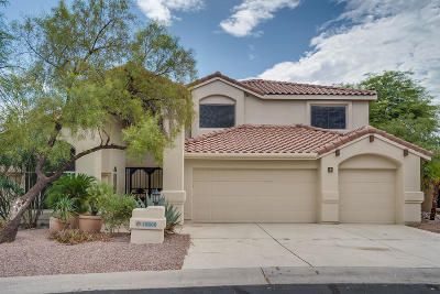 Oro Valley Single Family Home For Sale: 10860 N La Quinta Drive