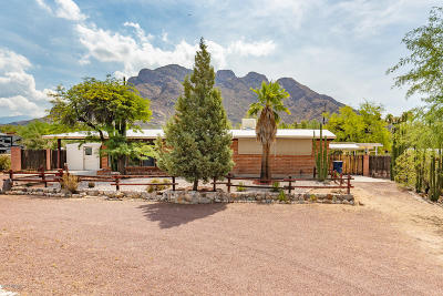 Oro Valley Single Family Home Active Contingent: 8980 N Shadow Mountain Drive
