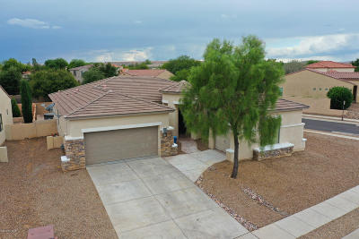 Pima County Single Family Home Active Contingent: 58 E Camino Rancho Felice