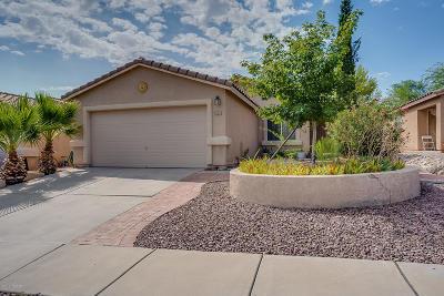 Tucson Single Family Home Active Contingent: 2231 W Burlwood Way