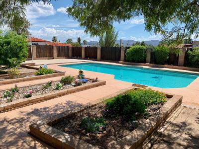 Tucson Single Family Home Active Contingent: 7801 N Orangewood Place