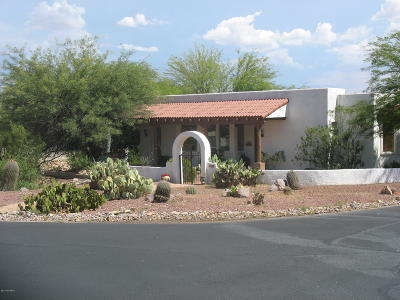 Tucson Single Family Home For Sale: 2001 S Doubletree Lane