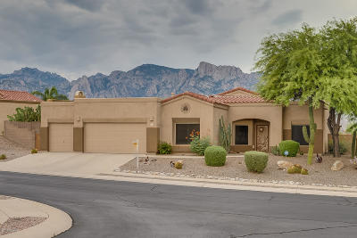 Oro Valley Single Family Home Active Contingent: 11930 N Potosi Point Drive