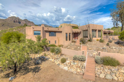 Tucson Single Family Home For Sale: 7308 N Camino Sin Vacas