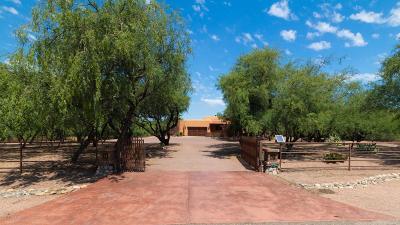 Santa Cruz County Single Family Home Active Contingent: 22 Rancho Del Rio Court