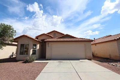 Tucson, Oro Valley, Marana, Sahuarita, Vail Single Family Home Active Contingent: 2309 W Silverbell Tree Drive