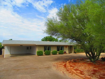 Tucson Single Family Home Active Contingent: 7613 N Sultan Place