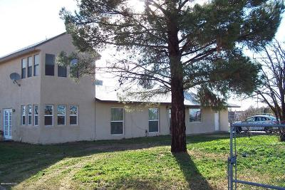Cochise County Single Family Home For Sale: 3514 N Keeling Lane