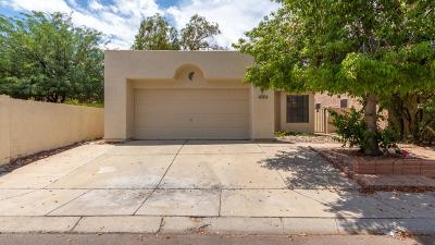 Pima County Single Family Home Active Contingent: 8909 N Fitzgerald Lane