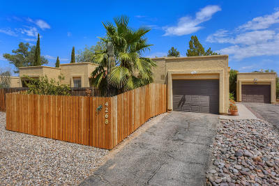 Pima County Townhouse For Sale: 4268 W Pyracantha Drive
