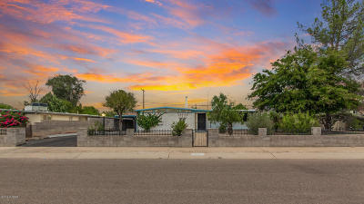 Tucson Single Family Home Active Contingent: 1200 W Wheatridge Drive