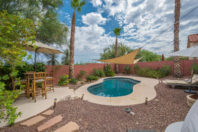 Tucson Single Family Home Active Contingent: 8989 E Laurie Ann Drive