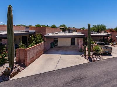 Pima County, Pinal County Townhouse Active Contingent: 5522 N Camino Arenosa