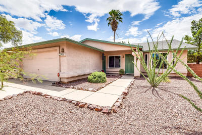 Tucson Single Family Home Active Contingent: 4651 W Bayberry Street