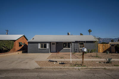 Tucson Single Family Home Active Contingent: 5649 E 2nd Street