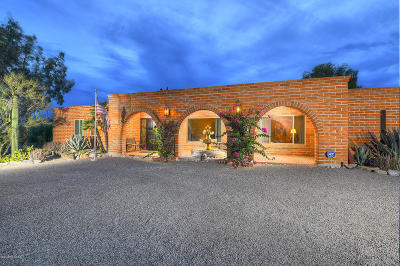 Tucson Single Family Home For Sale: 5241 N Via Condesa