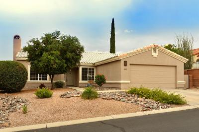 Oro Valley Single Family Home Active Contingent: 10271 N Wild Turkey Lane