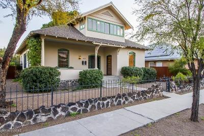 Tucson Single Family Home For Sale: 408 E 16th Street
