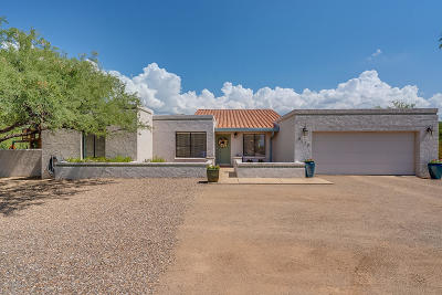 Pima County, Pinal County Single Family Home Active Contingent: 9675 E Elm Tree Circle