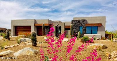 Pima County Single Family Home Active Contingent: 12500 N Placita El Cobo