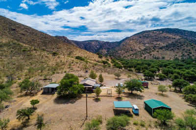 Cochise County Single Family Home For Sale: 3644 W Highway 80