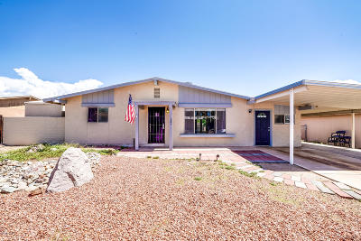 Tucson Single Family Home Active Contingent: 3405 S Magda Avenue