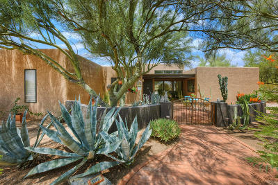 Single Family Home Active Contingent: 1140 W Sahara Palms Drive