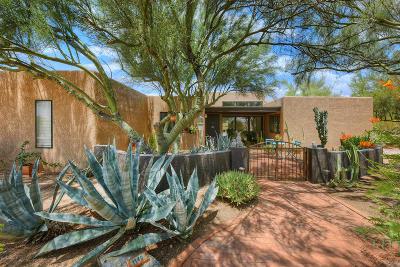 Tucson Single Family Home Active Contingent: 1140 W Sahara Palms Drive