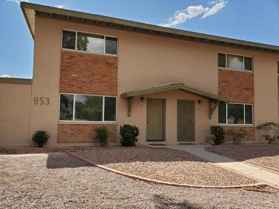 Condo Active Contingent: 953 N Desert Ave #D