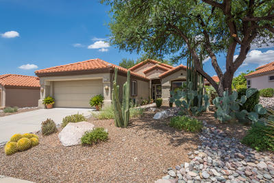 Pima County Single Family Home Active Contingent: 14285 N Wisteria Way