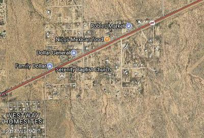 Residential Lots & Land For Sale: 15442 W Tucson-Ajo Highway