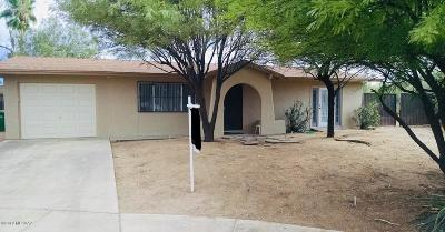 Tucson Single Family Home Active Contingent: 3971 W Jubilee Place