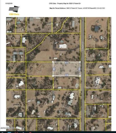 Tucson Residential Lots & Land For Sale: 3920 S Palant Drive #1
