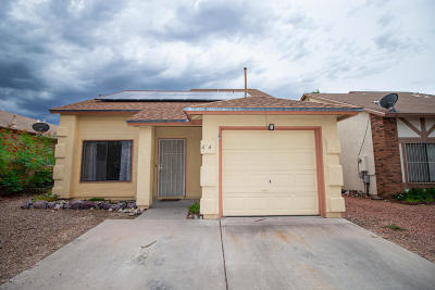 Pima County Single Family Home For Sale: 4241 W Stagestop Court