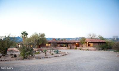 Pima County Single Family Home For Sale: 2820 N Cactus Flower Road
