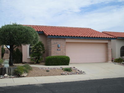 Pima County Single Family Home Active Contingent: 1626 W Calle Del Ducado