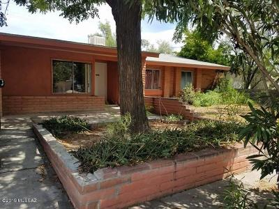 Tucson Single Family Home Active Contingent: 3700 W Gailey Drive