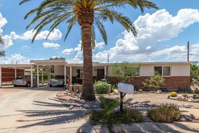 Tucson Single Family Home Active Contingent: 6334 E Placita Neptuno